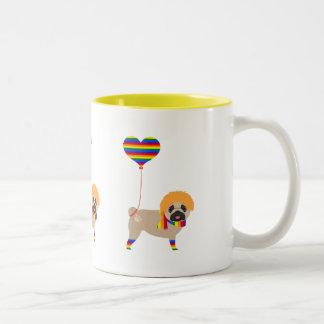 Gay Pride Pug Mug