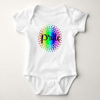 Gay Pride Rainbow Baby Bodysuit