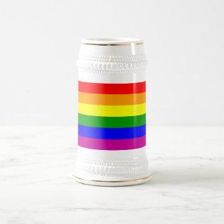 Gay Pride Rainbow Beer Stein