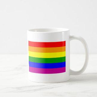 Gay Pride Rainbow Classic White Coffee Mug