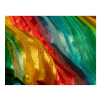 Gay Pride Rainbow Cloth Post Card