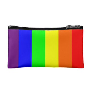 Gay Pride Rainbow Cosmetic Bag