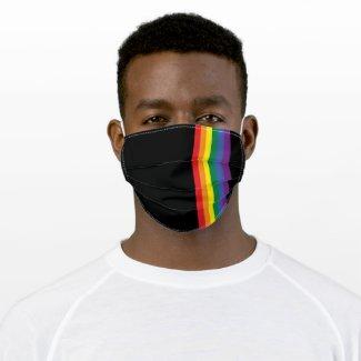 Gay Pride Rainbow Flag Cloth Face Mask