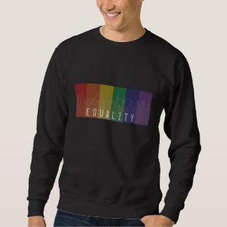 Gay Pride Rainbow Flag | Equality For All | PROP 8 Sweatshirt