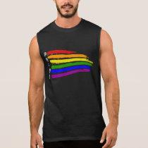 Gay Pride Rainbow flag Pride Sleeveless Shirt