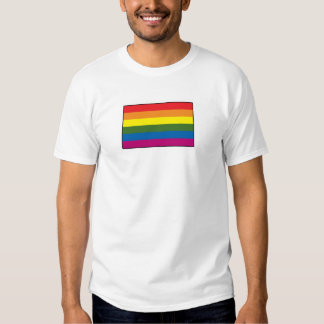 Gay Pride Rainbow Flag Tee Shirt