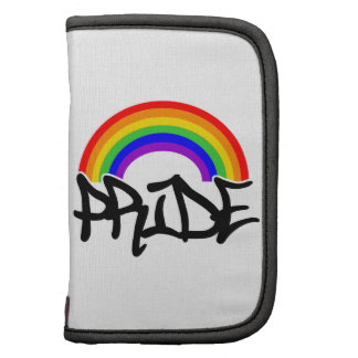 Gay Pride Rainbow Folio Planner