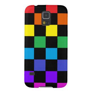 Gay Pride Rainbow Gifts - Rainbow Chessboard Samsung Galaxy Nexus Cover