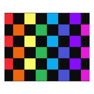 Gay Pride Rainbow Gifts - Rainbow Chessboard Flyer