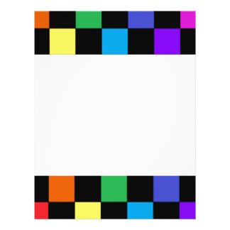 Gay Pride Rainbow Gifts - Rainbow Chessboard Personalized Flyer