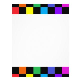 Gay Pride Rainbow Gifts Rainbow Chessboard Flyer