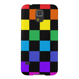 Gay Pride Rainbow Gifts - Rainbow Chessboard Galaxy S5 Case