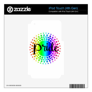 Gay Pride Rainbow iPod Touch 4G Decal