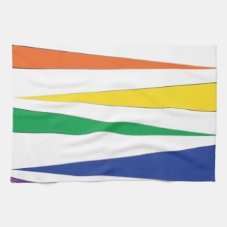 Gay Pride Rainbow Kitchen Towels