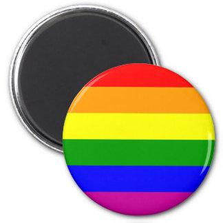Gay Pride Rainbow Magnet