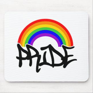 Gay Pride Rainbow Mousepads