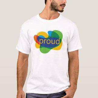 Gay Pride Rainbow Shirt Proud LGBT Support PFLAG