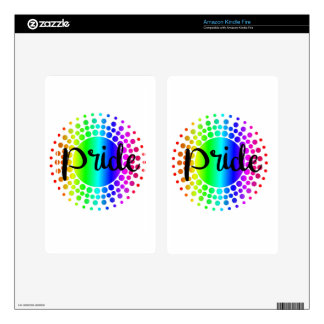 Gay Pride Rainbow Skin For Kindle Fire