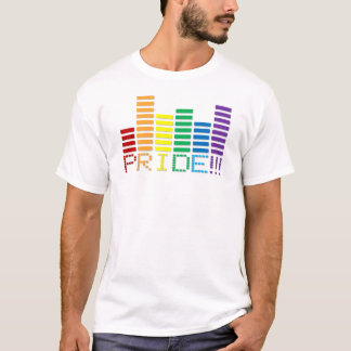 Gay Pride Rainbow Sound Bar 2013 T-Shirt