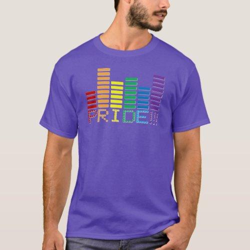 Gay Pride Rainbow Sound Bar 2015 T-Shirt