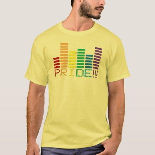 Gay Pride Rainbow Sound Bar 2016 T-Shirt