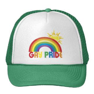 Gay Pride Rainbow Sun Hat