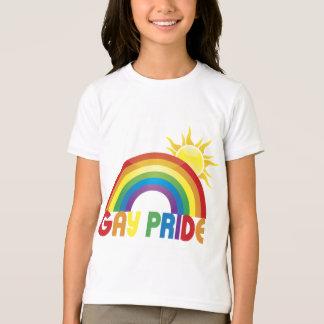 Gay Pride Rainbow Sun T-Shirt