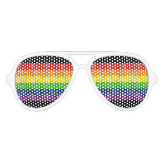 Gay Pride Rainbow Sunglasses