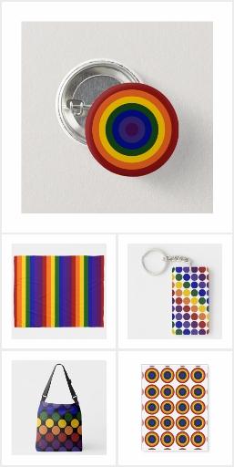 Gay Pride Rainbow Swag