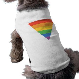 Gay Pride Rainbow Triangle Tee