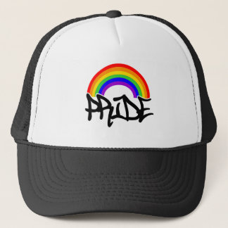 Gay Pride Rainbow Trucker Hat