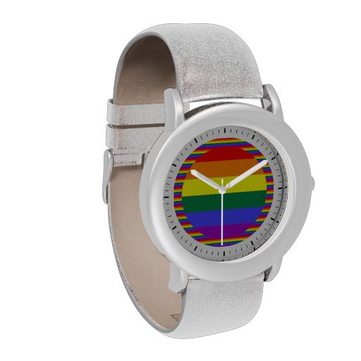 Gay Pride Rainbow Wrist Watches