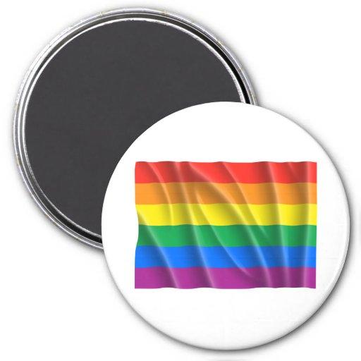GAY PRIDE REFRIGERATOR MAGNET