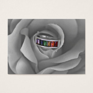 Gay Pride ring Business Card
