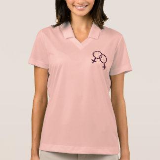 Gay Pride Shirts Women s Same-Sex Love Polo Shirt Polo