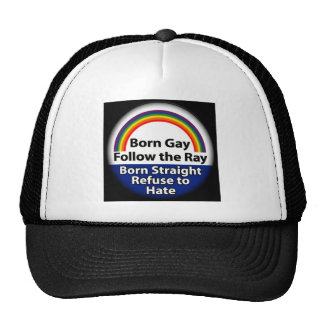 Gay Pride Snapback Trucker Hat
