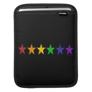 Gay Pride Stars 01 iPad Sleeves