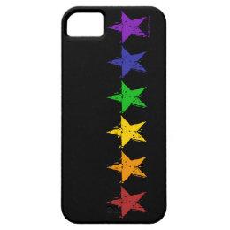 Gay Pride Stars 01 iPhone 5 Case