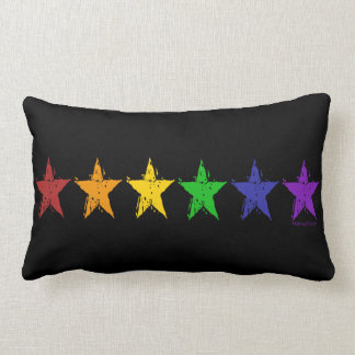 Gay Pride Stars Pillows
