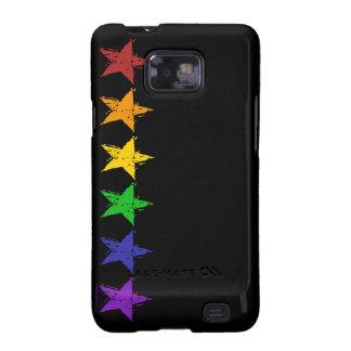 Gay Pride Stars Samsung Galaxy Case Samsung Galaxy SII Covers