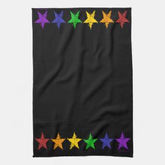 Gay Pride Stars Towels