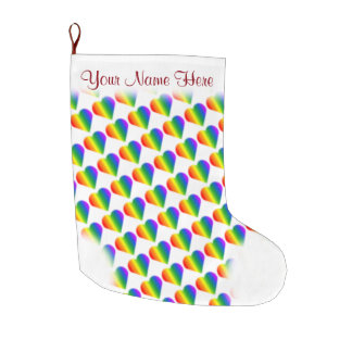 Gay Pride Stocking Personalized Love Stockings