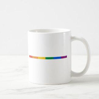 Gay Pride Stripe Coffee Mug