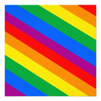 Gay Pride Stripes Personalized Invites