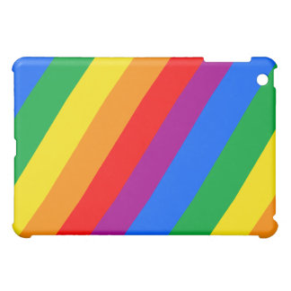 Gay Pride Stripes iPad Mini Case