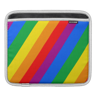 Gay Pride Stripes Sleeves For iPads
