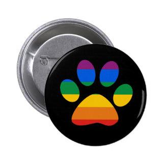 Gay Pride T-shirt Button
