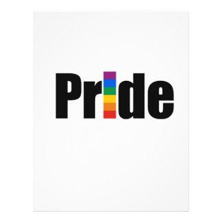 Gay Pride T-shirt Flyers