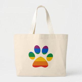 Gay Pride T-shirt Jumbo Tote Bag