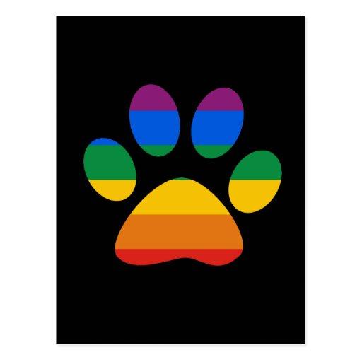 Gay Pride T-shirt Post Card